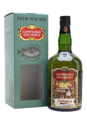 Compagnie des Indes Jamaica Navy Strength 5y 0,7l 57%