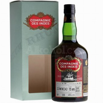 Compagnie des Indes Dominidad Small Batch Nr. 2 15y 2000 0,7l 43%