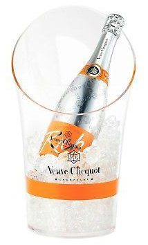 Veuve Clicquot Ponsardin Plastic Ice Bucket Transparent