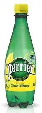 PERRIER Lemon  Mineral voda perlivá 0,5l PET
