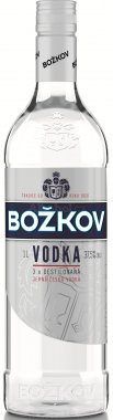 Božkov Vodka 1l 37,5%