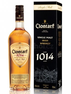 Clontarf Single Malt Irish Whiskey 0,7l 40%