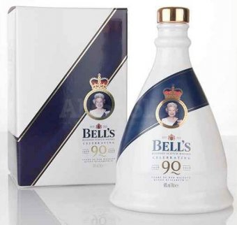 Bell's Decanter Queen's 90th Birthday Decanter 0,7l 40%