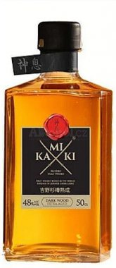 Kamiki Dark Wood Whisky 0,5l 48%
