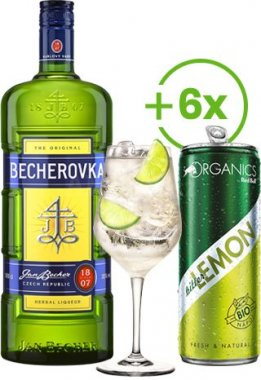 Becherovka & Bitter Lemon set