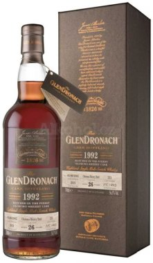 GlenDronach Single Cask 26y 1992 0,7l 56,5% GB L.E. Cask 221