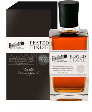 Relicario Peated Finish 0,7l 40% GB
