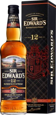 Sir Edward's Blended Scotch Whisky 12y 0,7l 40% GB