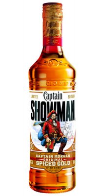 Captain Morgan Spiced  0,7l 35% - SHOWMAN