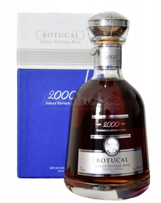 Aukce Botucal Single Vintage 12y 2000 0,7l 43% GB - číslo AQ-599
