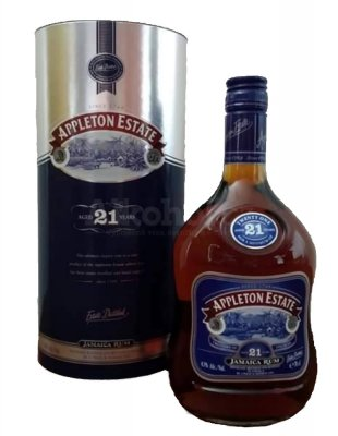 Aukce Appleton Estate 21y 0,7l 43%