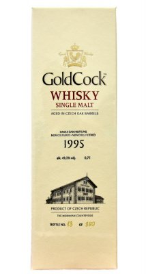Aukce Gold Cock 1995 Whisky 20y 0,7l 49,2%