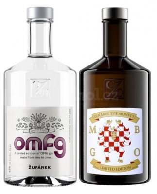 Aukce OMFG 2019 & Monkey Business Gin Žufánek 2×0,5l 45%