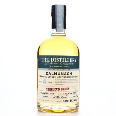 Aukce Dalmunach The Distillery Reserve Collection 4y 2014 0,5l 64,5%