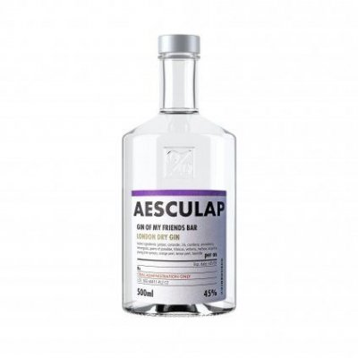 Aukce Aesculap Gin of My Friends Bar 0,5l 45%