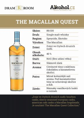 Macallan Quest 0,04l 40%