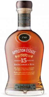 Aukce Appleton Estate 15y 0,75l 43%
