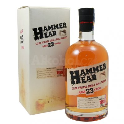 Aukce Hammer Head whisky 23y 0,7l 40,7% GB