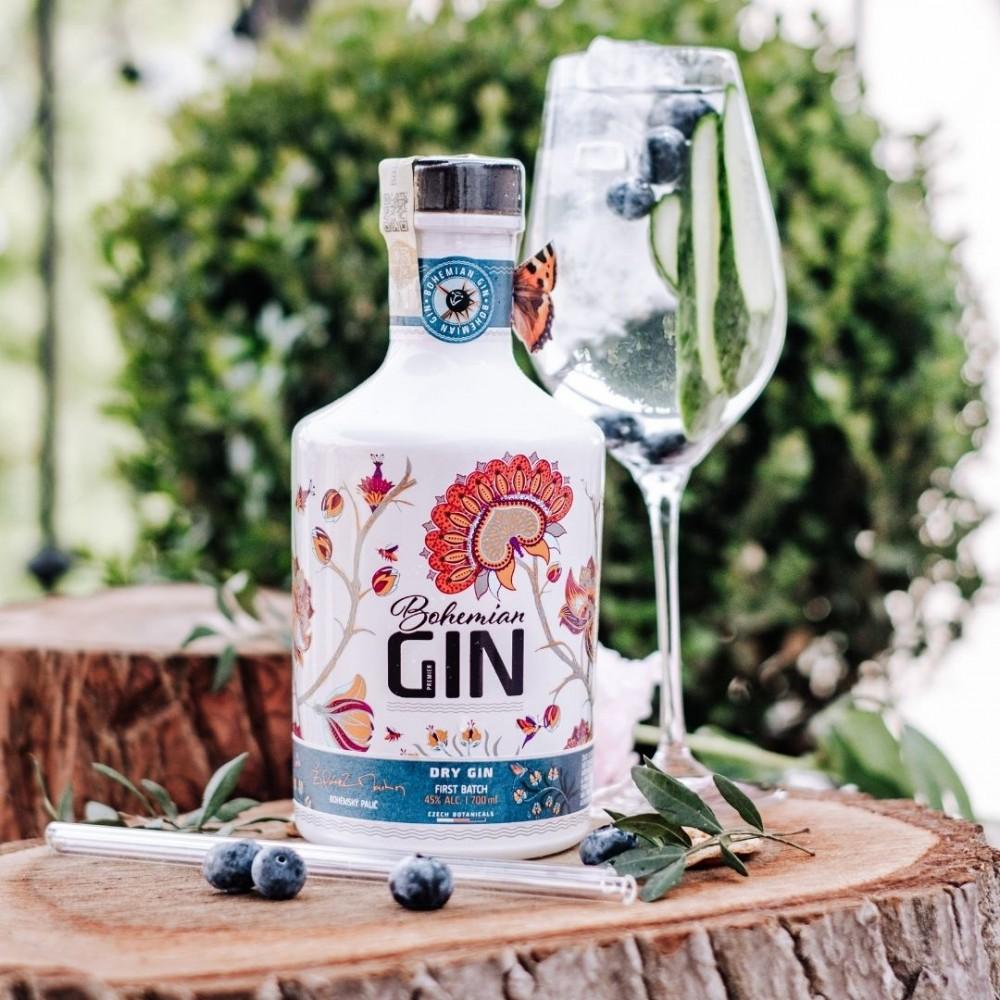 Bohemian gin recepty