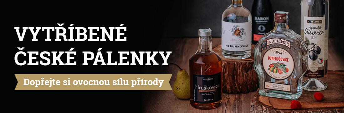 České pálenky