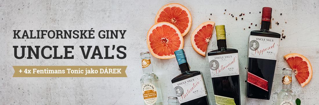 Uncle Val´s giny s toniky zdarma