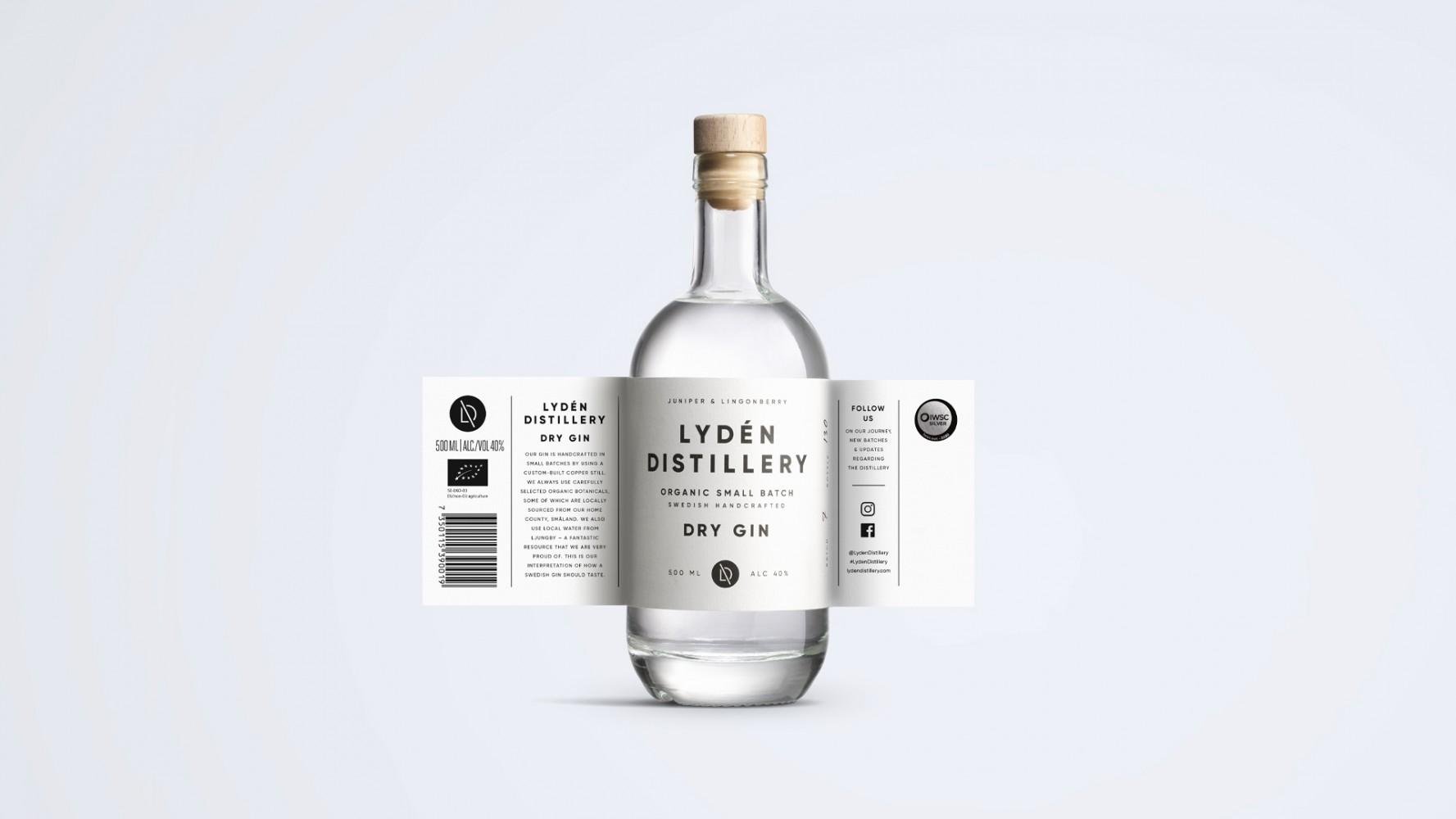Dry Gin od Lydén Distillery