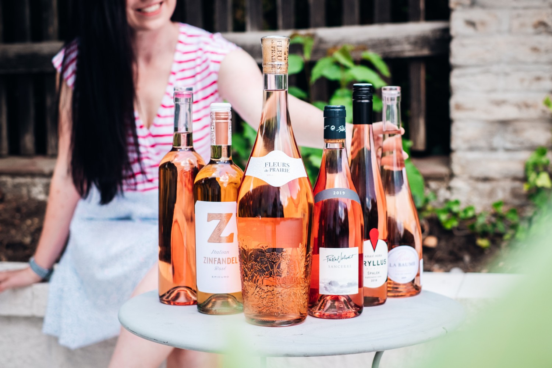 Růžová vína a letní sezóna