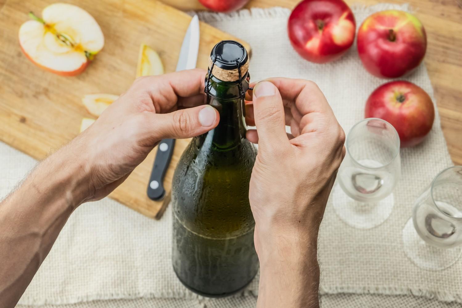 Jak se vyrábí cider