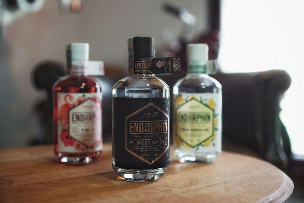 Český gin Endorphin