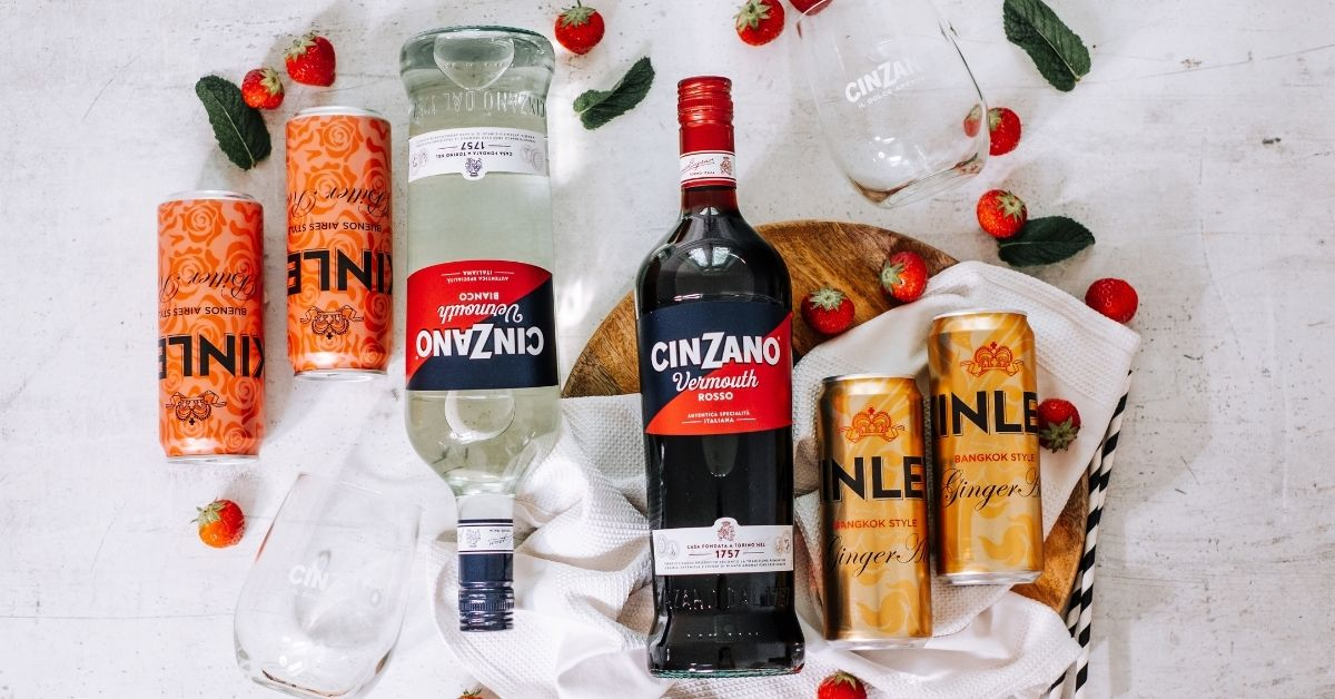 Letní Cinzano koktejly
