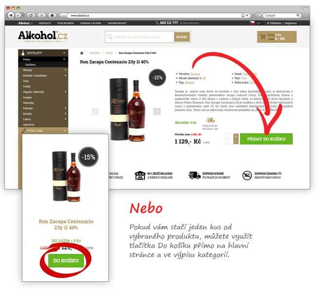 Koupit alkohol online