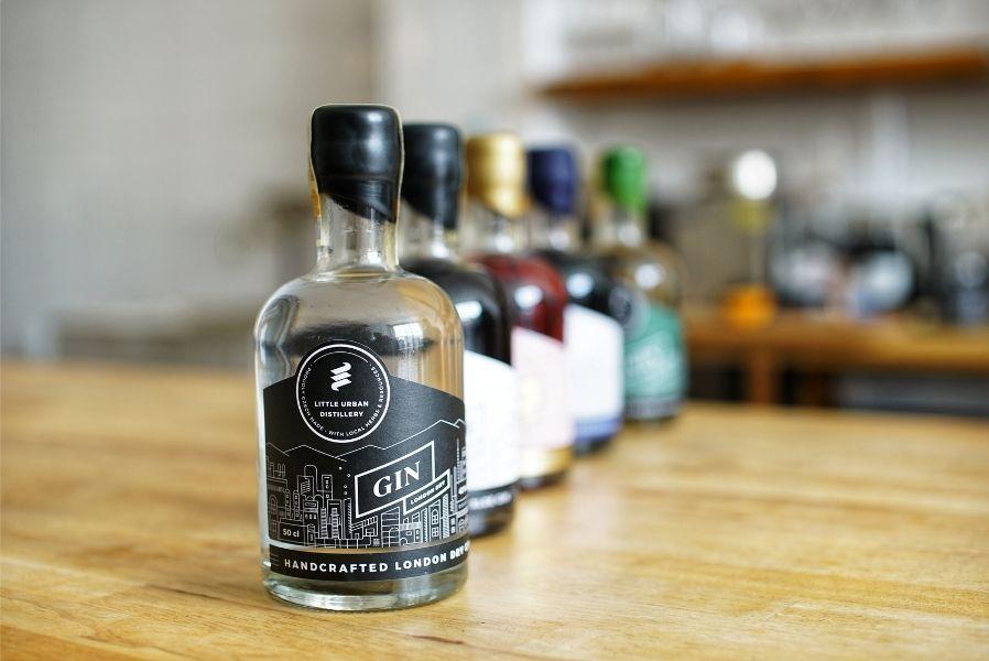 Little Urban Distillery - giny