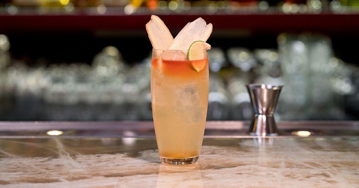 -Recept na drink Spice & Ginger