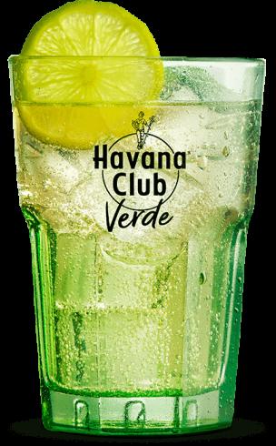 Havana Club Verde s Ginger Ale