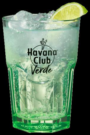 Havana Club Verde s tonikem